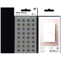 Sticker Sterne gold 13 mm