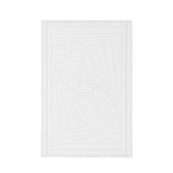 Normann Copenhagen Illusion Geschirrhandtuch weiß