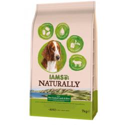 Iams Naturally Adult Lamm & Reis Hundefutter 2 x 2,7 kg
