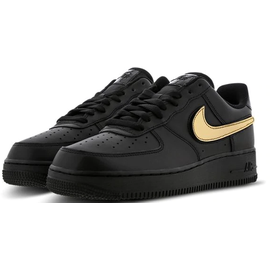 Nike Men's Air Force 1 '07 LV8 black-gold, 46