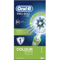 Oral B Pro 600 CrossAction Green Color Edition
