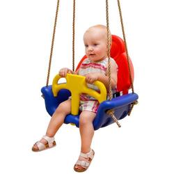 3-in-1 Kinderschaukel 49x48x34cm Babyschaukel Garten Schaukel Kinder Spielzeug