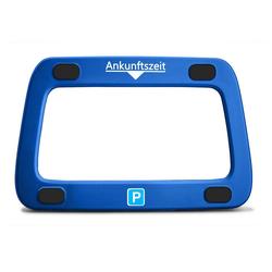 achilles Digitaluhr Parkwächter Scheibenadapter mit 4 Klebepads (Für Digitale Parkscheibe) blau