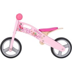 Bikestar Laufrad 2-in-1 7 Zoll rosa