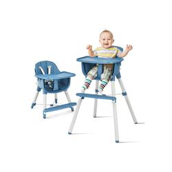COSTWAY Kombihochstuhl Babyhochstuhl Kinderhochstuhl, 3 in 1, Hochstuhl & Essstuhl & Kinderhocker, höhenverstellbar