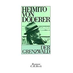 Der Grenzwald. Heimito von Doderer  - Buch