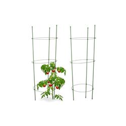relaxdays Rankhilfe Rankhilfe Tomaten 2er Set