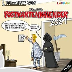 Tot aber lustig! Postkartenkalender 2021