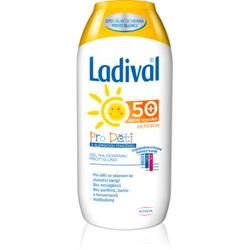 Ladival Kids schützende Gel-Creme zum Bräunen gegen Sonnenallergie SPF 50+ 200 ml