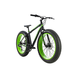 Mountainbike MTB Fatbike Fat-XTR Mountainbikes schwarz Gr. 26