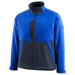 MASCOT® unisex Softshelljacke Finley blau Größe 4XL