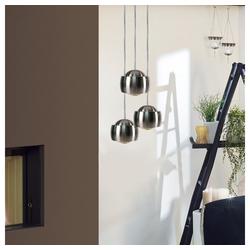 s.LUCE Pendelleuchte Beam LED mit Glaslinse Ø 12cm