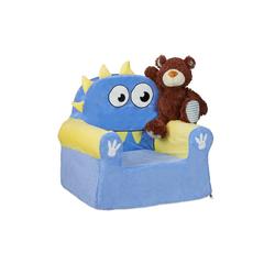 relaxdays Sessel Kindersessel für Jungen & Mädchen