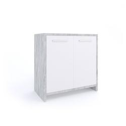 Vicco Waschbeckenunterschrank Waschtischunterschrank Kiko Unterschrank Waschbecken Waschtisch Bad Beton