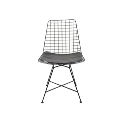 KARE Stuhl Stuhl Grid schwarz