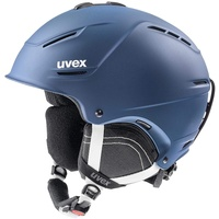 Uvex p1us 2.0 Skihelm, navyblue mat, 52-55 cm