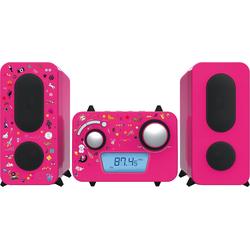 BigBen Stereo Music Center MCD11 für Kinder, pink Stereoanlage rosa