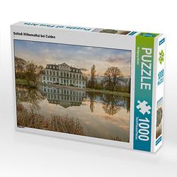 Schloß Wilhemsthal bei Calden Lege-Größe 64 x 48 cm Foto-Puzzle Bild von Wolfgang Nickel Puzzle