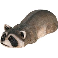 Dekofigur »Waschbär schwimmend«, Dekofiguren, 87098552-0 grau grau