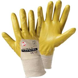 Worky L+D Flex Nitril 1496 Nitrilkautschuk Arbeitshandschuh Größe (Handschuhe): 9, L EN 388 CAT II