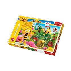 Trefl Puzzle Maxi Puzzle 24 Teile - Die Biene Maja, Puzzleteile