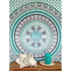 Tagesdecke Boho-Style Wandbehang, indische Tagesdecke.., Guru-Shop