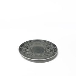 Aida Circle Steingut Teller Grau 20,5 cm