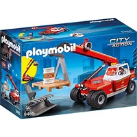Playmobil City Action Feuerwehr-Teleskoplader