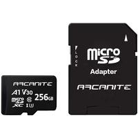 ARCANITE microSDXC 256 GB Class 10 UHS-I U3 + SD-Adapter