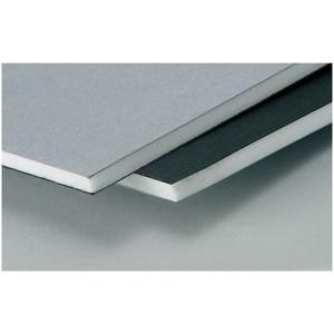 Westfoam 5 mm A3 Foamboard - Schwarz/grau (Packung mit 10 Blatt)