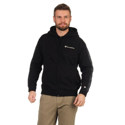 Champion Trainingsjacke Champion Zipper Herren 214777 F20 KK001 NBK/NBK/ALLOVER Schwarz