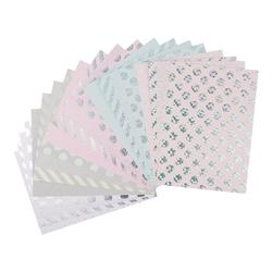 VBS Designpapier Hot Foil, 20 Blatt