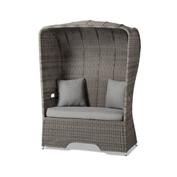 Lounge-Strandkorb