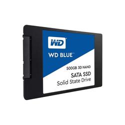 Western Digital WD Blue SSD 500GB 3D NAND 2,5 Zoll int. Festplatte SSD-Festplatte