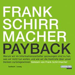 Payback: Hörbuch Download von Frank Schirrmacher