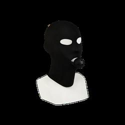 Rimba Kopfmaske mit integriertem Mundknebel