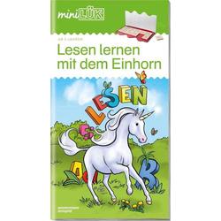 LÜK miniLesen mit dem Einhorn 4507
