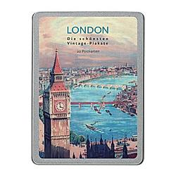 London, 20 Postkarten