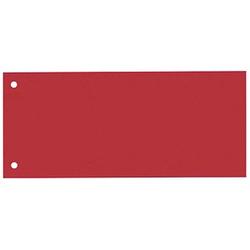 100 bene Trennstreifen rot