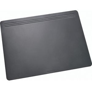 Läufer Schreibunterlage Ambiente Matton, schwarz, Kunststoff, blanko, 70 x 50cm