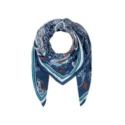 XL-Tuch aus Viskose mit Logo- und Paisley-Print Codello navy blue