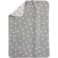 Alvi Babydecke Sterne grau