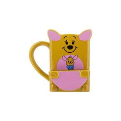 Disney Winnie Puuh Tasse Winnie Pooh Kanga Becher mit Keks Fach