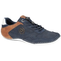 BUGATTI Canario dark blue/brown 43