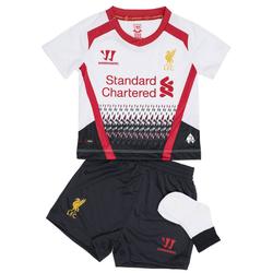 FC Liverpool Warrior Baby Mini Kit Auswärts Trikot Set WSTB309-WT - 74