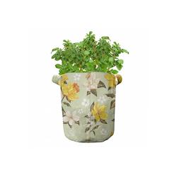 Abakuhaus Pflanzkübel hochleistungsfähig Stofftöpfe mit Griffen für Pflanzen, Frühling Floral Narcissus Ast 28 cm x 28 cm