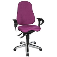 Sitness® 10 Bürostuhl lila