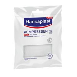 HANSAPLAST Kompressen steril 10x10 cm 5X2 St