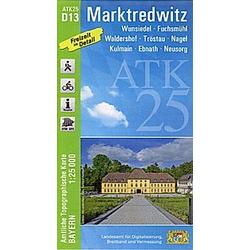 ATK25-D13 Marktredwitz (Amtliche Topographische Karte 1:25000) - Buch