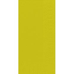Duni Zelltuch Servietten 33x33 3lg 1/8 BF kiwi - 4x250 Stück